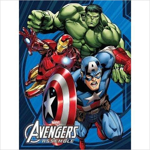 Avengers Soft Twin Blanket - Find unique gifts for superhero fans, the avengers, DC, marvel fans all super villians and super heroes gift ideas, games collectibles and gadgets at Gifteee Cool gifts, Unique Gifts for comic book fans
