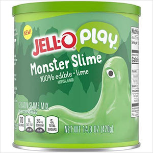 JELLO-Play Slime, Monster - Play with - Eat it - Find unique gifts that will get you kids eating well and eating healthy with unique foodie gifts for kids dinner and the kitchen at Gifteee Cool gifts, Unique Gifts that will make kids enjoy eating