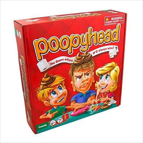 Poopyhead Card Game - The Game Where Number 2 Always Wins! - Gifteee. Find cool & unique gifts for men, women and kids