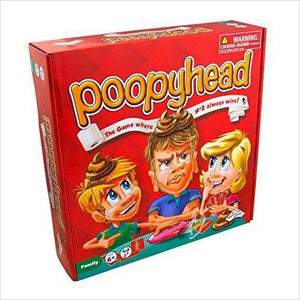 Poopyhead Card Game - The Game Where Number 2 Always Wins!-Toy - www.Gifteee.com - Cool Gifts \ Unique Gifts - The Best Gifts for Men, Women and Kids of All Ages