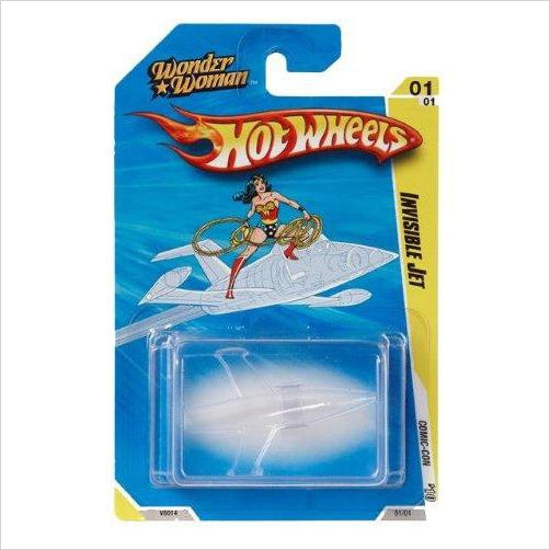 Hot Wheels - Wonder Woman Invisible Jet Vehicle - RARE Collectible - 2010 SDCC Exclusive - Gifteee. Find cool & unique gifts for men, women and kids