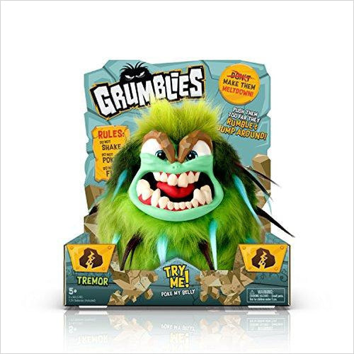 Grumblies Tremor - Find scary gifts for Halloween, disgusting gifts for horror, weird gifts for oddity lovers and some firefighting special effects lovers at Gifteee Cool gifts, Unique Gifts for Halloween