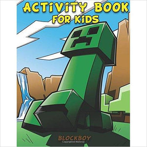 Activity Book for Kids: Fun Minecraft Activity Pages - Coloring Pages, Dot-to-Dots, Puzzles & More!-Book - www.Gifteee.com - Cool Gifts \ Unique Gifts - The Best Gifts for Men, Women and Kids of All Ages