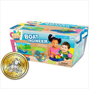 Kids First Boat Engineer Science Kit - Find unique gifts for boys age 5-11 year old, gifts for your son, gifts for your kids birthday or Christmas, gifts for you children classmates and friends at Gifteee Unique Gifts, Cool gifts for boys
