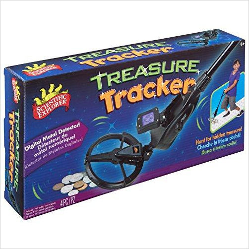 Scientific Explorer Treasure Tracker-Toy - www.Gifteee.com - Cool Gifts \ Unique Gifts - The Best Gifts for Men, Women and Kids of All Ages