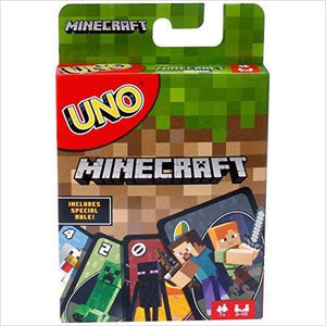 UNO Minecraft Card Game-Toy - www.Gifteee.com - Cool Gifts \ Unique Gifts - The Best Gifts for Men, Women and Kids of All Ages