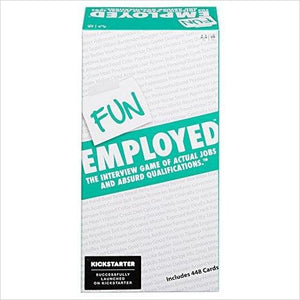 Funemployed: The Interview Game of Actual Jobs and Absurd Qualifications-Toy - www.Gifteee.com - Cool Gifts \ Unique Gifts - The Best Gifts for Men, Women and Kids of All Ages