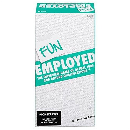 Funemployed: The Interview Game of Actual Jobs and Absurd Qualifications - Gifteee. Find cool & unique gifts for men, women and kids