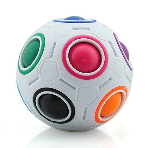 Intelligence Rainbow Magic Ball - Find unique gifts for boys age 5-11 year old, gifts for your son, gifts for your kids birthday or Christmas, gifts for you children classmates and friends at Gifteee Unique Gifts, Cool gifts for boys