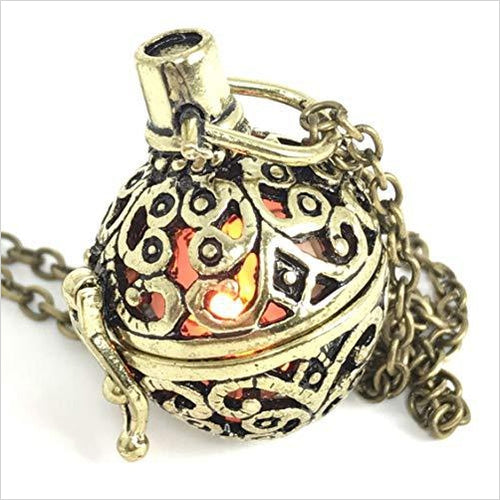 Steampunk FIRE necklace-Jewelry - www.Gifteee.com - Cool Gifts \ Unique Gifts - The Best Gifts for Men, Women and Kids of All Ages