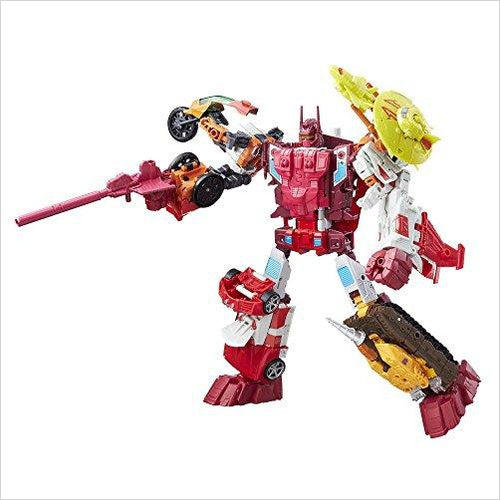 Transformers Generations Combiner Wars Computron Collection Pack - Find unique gifts for boys age 5-11 year old, gifts for your son, gifts for your kids birthday or Christmas, gifts for you children classmates and friends at Gifteee Unique Gifts, Cool gifts for boys