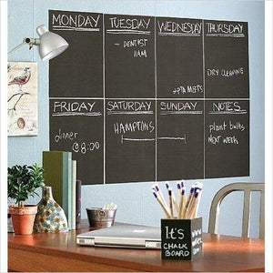Vinyl Chalkboard Sheet - Find unique decor gifts for the office and workplace, get cool gadgets for your office desk and cubicle at Gifteee Cool gifts, Unique decor Gifts for the office and workplace
