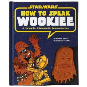 How to Speak Wookiee: A Manual for Intergalactic Communication (Star Wars) - Find unique gifts for Star Wars fans, new star wars games and Star wars LEGO sets, star wars collectibles, star wars gadgets and kitchen accessories at Gifteee Cool gifts, Unique Gifts for Star Wars fans