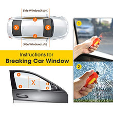 Load image into Gallery viewer, Window Breaker Seatbelt Cutter - Gifteee. Find cool & unique gifts for men, women and kids