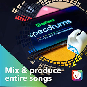 Sphero Specdrums App-Enabled Musical Rings with Play Pad - Gifteee. Find cool & unique gifts for men, women and kids
