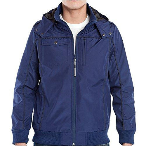 Baubax Men's Bomber Smart Travel Jacket-Beauty - www.Gifteee.com - Cool Gifts \ Unique Gifts - The Best Gifts for Men, Women and Kids of All Ages