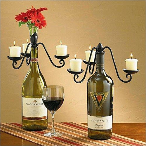 Wine-Bottle Topper-Home - www.Gifteee.com - Cool Gifts \ Unique Gifts - The Best Gifts for Men, Women and Kids of All Ages
