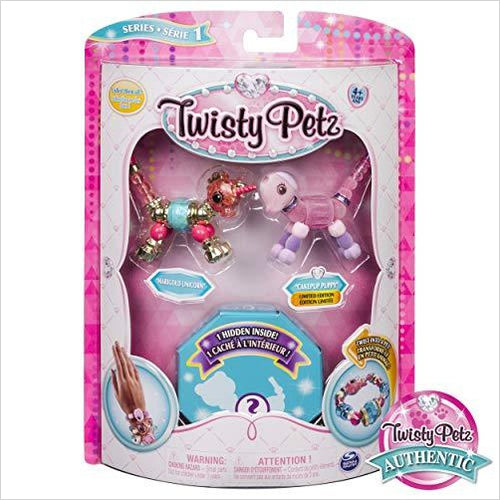 Twisty Petz Bracelet - 3-Pack-Toy - www.Gifteee.com - Cool Gifts \ Unique Gifts - The Best Gifts for Men, Women and Kids of All Ages