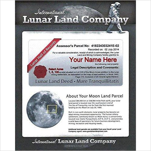 Buy Land On the Moon - Gifteee. Find cool & unique gifts for men, women and kids