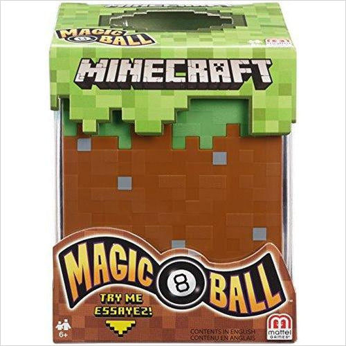 Minecraft Magic 8 Ball-Toy - www.Gifteee.com - Cool Gifts \ Unique Gifts - The Best Gifts for Men, Women and Kids of All Ages