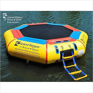 10' Bounce N Splash Padded Water Bouncer-Sports - www.Gifteee.com - Cool Gifts \ Unique Gifts - The Best Gifts for Men, Women and Kids of All Ages