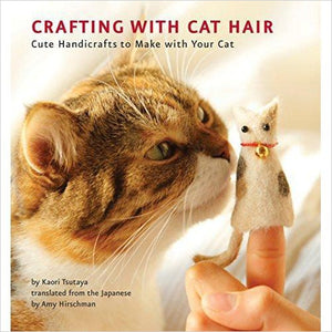 Crafting with Cat Hair-Book - www.Gifteee.com - Cool Gifts \ Unique Gifts - The Best Gifts for Men, Women and Kids of All Ages