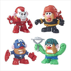 Mr. Potato Head Marvel Super Rally Pack - Find unique gifts for superhero fans, the avengers, DC, marvel fans all super villians and super heroes gift ideas, games collectibles and gadgets at Gifteee Cool gifts, Unique Gifts for comic book fans