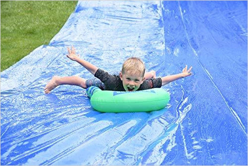 Heavy Duty Waterslide - 75' X 12' - Gifteee. Find cool & unique gifts for men, women and kids