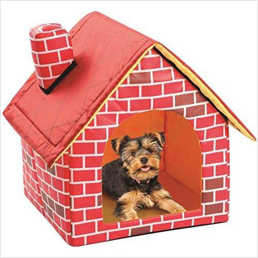 Brick Dog House-Pet Products - www.Gifteee.com - Cool Gifts \ Unique Gifts - The Best Gifts for Men, Women and Kids of All Ages