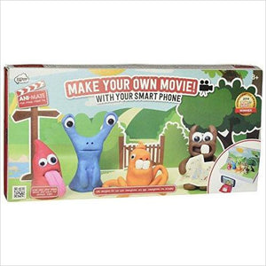 Clay Animation Movie Maker Kit-Toy - www.Gifteee.com - Cool Gifts \ Unique Gifts - The Best Gifts for Men, Women and Kids of All Ages