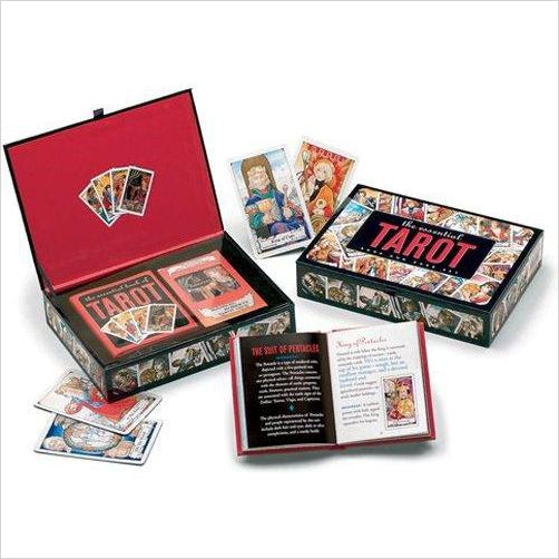 The Essential Tarot Kit: Book and Card Set-book - www.Gifteee.com - Cool Gifts \ Unique Gifts - The Best Gifts for Men, Women and Kids of All Ages