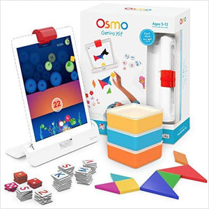 Osmo Genius Kit - Find the newest innovations, cool gadgets to use at home, at the office or when traveling. amazing tech gadgets and cool geek gadgets at Gifteee Cool gifts, Unique Tech Gadgets and innovations