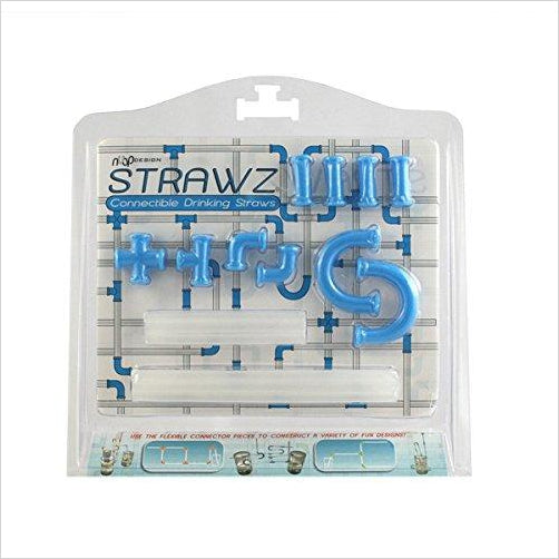 Build Your Own Straws Construction Kit-Toy - www.Gifteee.com - Cool Gifts \ Unique Gifts - The Best Gifts for Men, Women and Kids of All Ages
