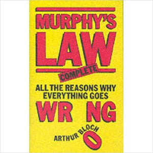 Murphy's Law (Complete)-Book - www.Gifteee.com - Cool Gifts \ Unique Gifts - The Best Gifts for Men, Women and Kids of All Ages