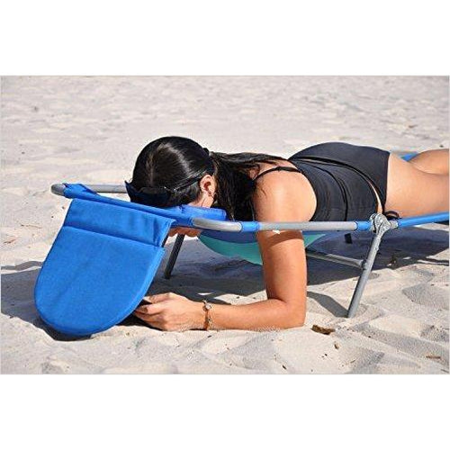 Comfort Lounge - With a designated hole to tan & read-Lawn & Patio - www.Gifteee.com - Cool Gifts \ Unique Gifts - The Best Gifts for Men, Women and Kids of All Ages