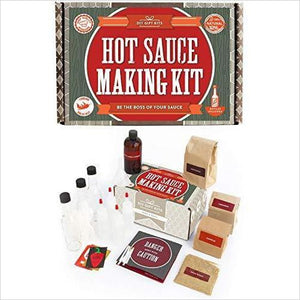 Hot Sauce Kit-Grocery - www.Gifteee.com - Cool Gifts \ Unique Gifts - The Best Gifts for Men, Women and Kids of All Ages