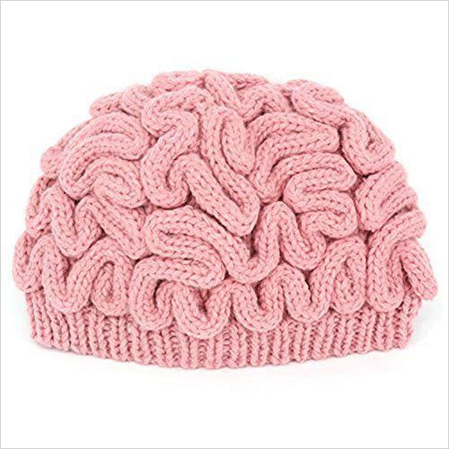 Brain Knitted Hat - Gifteee. Find cool & unique gifts for men, women and kids