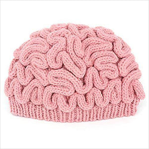 Brain Knitted Hat-Apparel - www.Gifteee.com - Cool Gifts \ Unique Gifts - The Best Gifts for Men, Women and Kids of All Ages