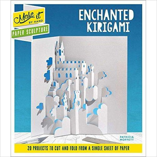 Paper Sculpture Enchanted Kirigami (Make It By Hand) - Find unique arts and crafts gifts for creative people who love a new hobby or expand a current hobby, art accessories, craft kits and models at Gifteee Cool gifts, Unique Gifts for arts and crafts lovers