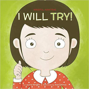 I Will Try (MIndful Mantras) - Find unique gifts for a newborn baby and cool gifts for toddlers ages 0-4 year old, gifts for your kids birthday or Christmas, special baby shower gifts and age reveal gifts at Gifteee Unique Gifts, Cool gifts for babies and toddlers