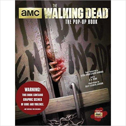 The Walking Dead: The Pop-Up Book - Find scary gifts for Halloween, disgusting gifts for horror, weird gifts for oddity lovers and some firefighting special effects lovers at Gifteee Cool gifts, Unique Gifts for Halloween