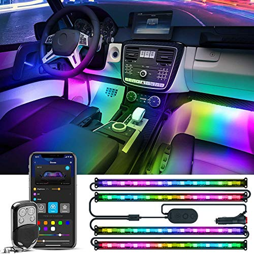 Rgbic Interior Car Led Lights, App Control, Music Mode
