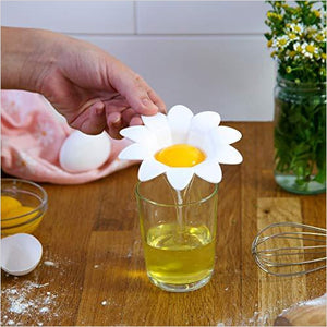 Daisy Plastic Egg Separator-Kitchen - www.Gifteee.com - Cool Gifts \ Unique Gifts - The Best Gifts for Men, Women and Kids of All Ages
