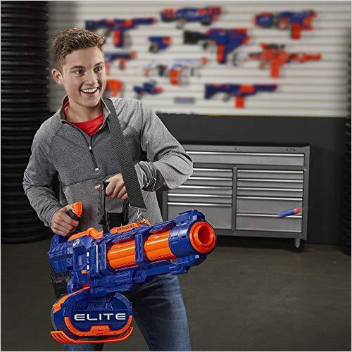 NERF Elite Titan CS-50 Toy Blaster -- Fully Motorized - Gifteee. Find cool & unique gifts for men, women and kids