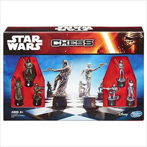 Star Wars Chess Game - Find unique gifts for Star Wars fans, new star wars games and Star wars LEGO sets, star wars collectibles, star wars gadgets and kitchen accessories at Gifteee Cool gifts, Unique Gifts for Star Wars fans