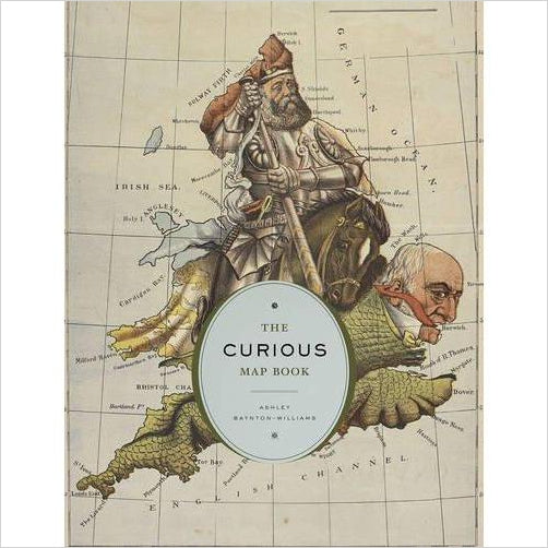 The Curious Map Book - Find special books, flip books, pop up books, mysterious books, unique map books, unusual creative books at Gifteee unique books for kids and adults