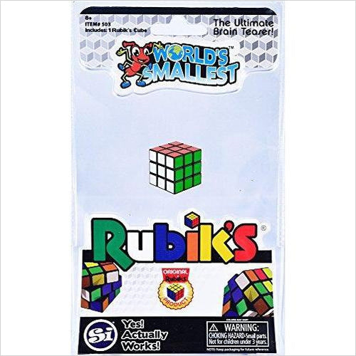 Worlds Smallest Rubik's-Toy - www.Gifteee.com - Cool Gifts \ Unique Gifts - The Best Gifts for Men, Women and Kids of All Ages
