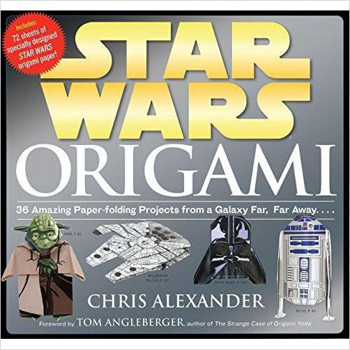 Star Wars Origami: 36 Amazing Paper-folding Projects from a Galaxy Far, Far Away.... - Find unique arts and crafts gifts for creative people who love a new hobby or expand a current hobby, art accessories, craft kits and models at Gifteee Cool gifts, Unique Gifts for arts and crafts lovers