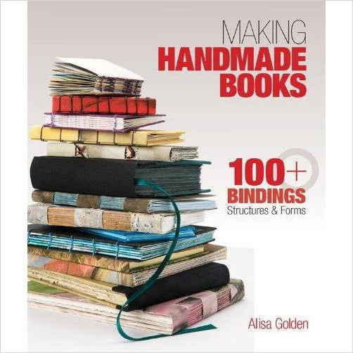 Making Handmade Books: 100+ Bindings, Structures & Forms - Find unique arts and crafts gifts for creative people who love a new hobby or expand a current hobby, art accessories, craft kits and models at Gifteee Cool gifts, Unique Gifts for arts and crafts lovers