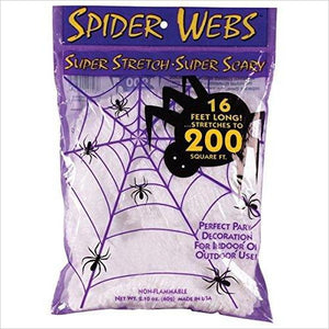 Super Stretch Spider Web-Toy - www.Gifteee.com - Cool Gifts \ Unique Gifts - The Best Gifts for Men, Women and Kids of All Ages